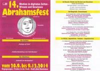 """14. Abrahamsfest in Marl - Thema: """"Medien in digitalen Zeiten – Wissen und Gewissen."""