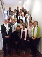 22 Mitarbeitende des Ambulanten Hospizdienstes fuhren zum Erfahrungsaustausch nach Ratzeburg