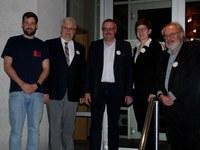 Diakon Christian Stöppelmann als Jugendreferent eingeführt, Pfarrer Ingo Janzen als Jugendkoordinator verabschiedet