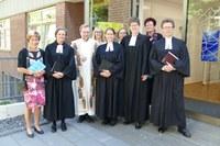 Einführung von Pfarrerin Sabine Bärenfänger in der Kirchengemeinde Marl