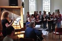 Kirchentagsgottesdienst in der Friedenskirche