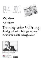 Sechs Predigten an sechs Orten zur Barmer Theologischen Erklärung