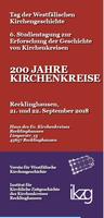 Studientag der Westfälischen Kirchengeschichte am 21. und 22. September