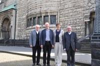 """""""Was machen Sie am 31. Oktober?"""" - Gedankenaustausch der vier leitenden Geistlichen im Vorfeld des zentralen ökumenischen Gottesdienstes am Reformationstag"""